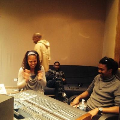 En studio à Laborie avec Lisa Simone