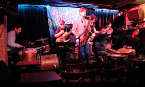 xavier roumagnac eklectik band avec Minh Pham, Yoann Kempst, Guillaume Marin