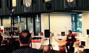 Conférence à la médiathèque de Saint Malo