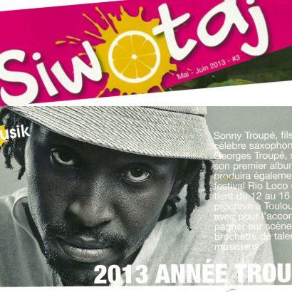 2013 Année Troupé